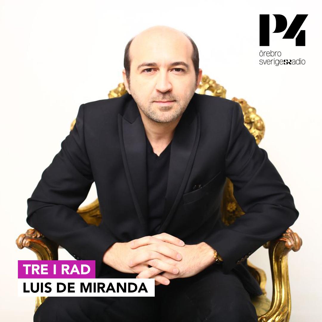 Luis de Miranda Tre i rad